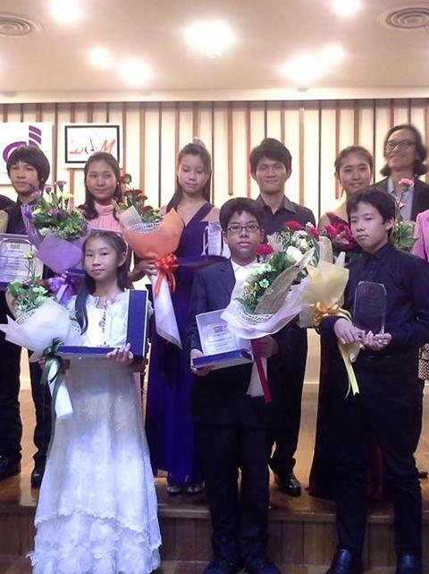 Thailand 2nd International String Competition 2013