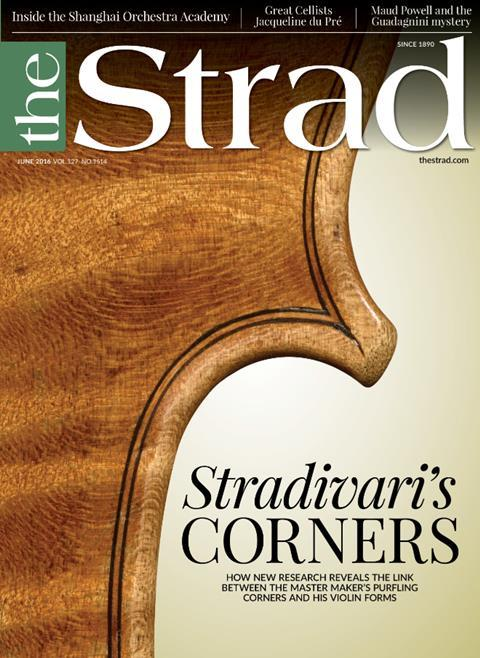 We investigate the relationship between Stradivari's purfling corners and his violin forms