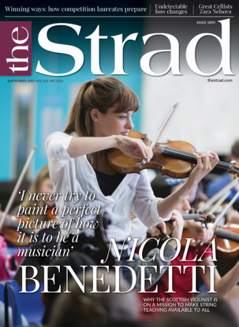 Violinist Nicola Benedetti talks about her mission to make string teaching available for all