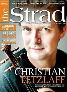 Christian Tetzlaff: The German violinist combines a scholarly approach to repertoire with a passion for new works