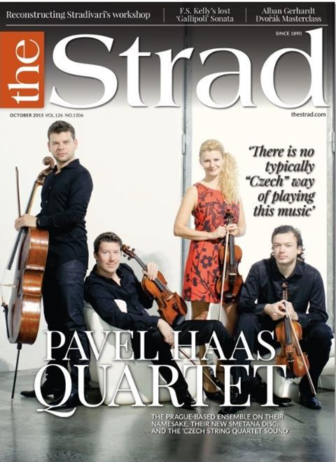 The Pavel Haas Quartet speak about their namesake, their new Smetana disc and the 'Czech string quartet sound'