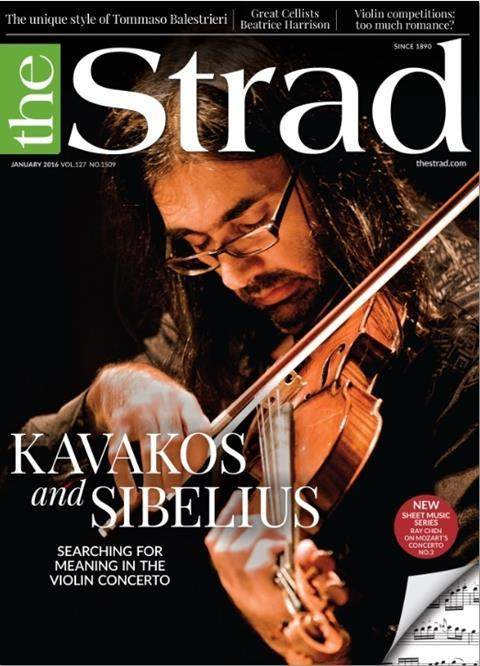 Leonidas Kavakos speaks about his ever-deepening relationship with the Sibelius Violin Concerto