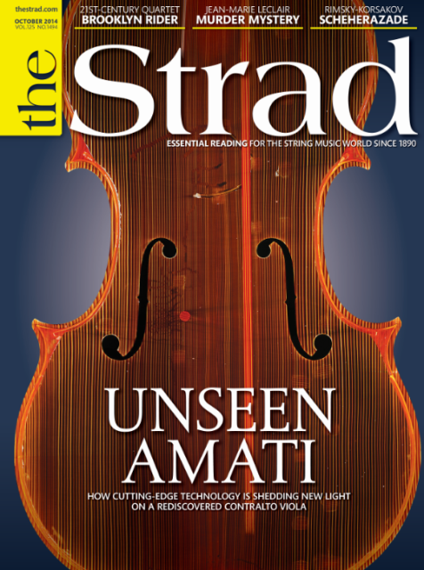 We explore how cutting-edge technology is shedding new light on a rediscovered contralto Amati viola