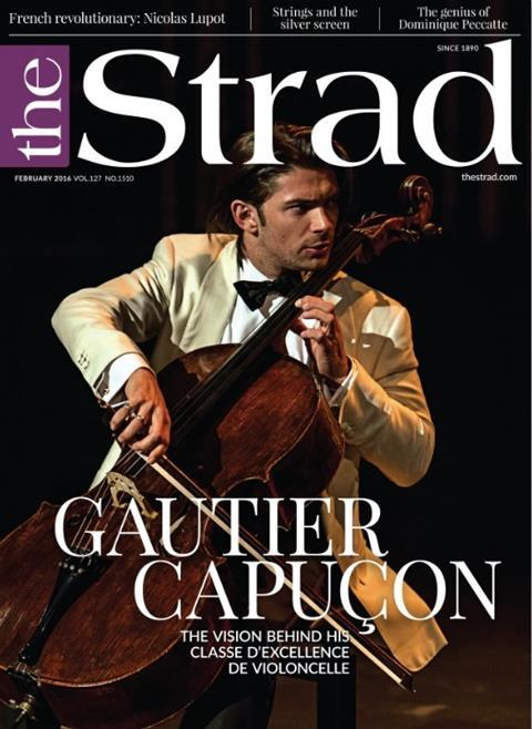 February 2016 issue | Gautier Capuçon | The Strad