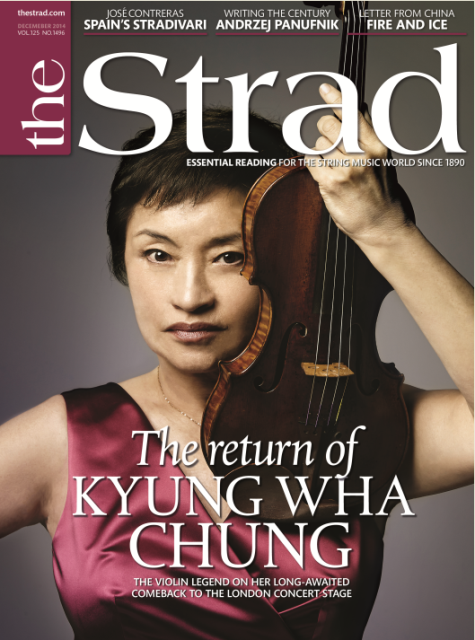 December 2014 issue | The return of Kyung Wha Chung | The Strad