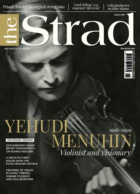 Our Yehudi Menuhin centenary edition celebrates the violinist and visionary in interviews and pictures