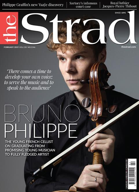 Cellist Bruno Philippe talks gut strings, competitions, and the pros and cons of old and new instruments