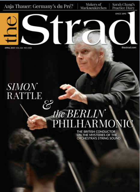Berlin Philharmonic music director Simon Rattle discusses the mysteries of the orchestra's string sound