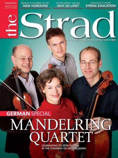 German special celebrates the Mandelring Quartet's 30th anniversary and German string education