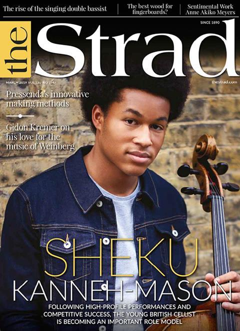 Following high-profile performances and competitive success, Sheku Kanneh-Mason is becoming an important role model.