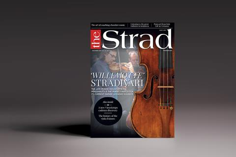 The Strad December 2020 issue