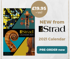 The Strad Calendar | Pre-Order | The Strad Shop