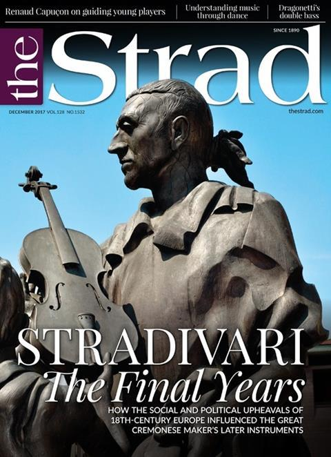 How the social and political upheavals of 18th-century Europe affected Stradivari and his later instruments
