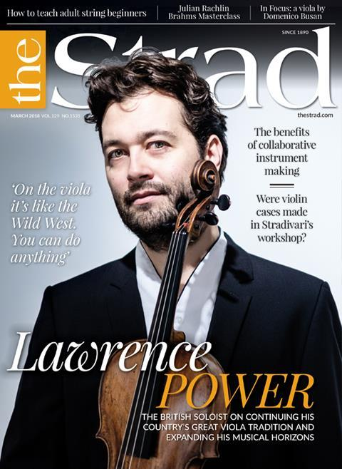 Viola player Lawrence Power talks about playing different instruments, good string teaching and why it's important to challenge conventional wisdom