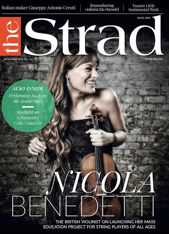 Nicola Benedetti: The violinist's Benedetti Sessions have proved stunningly popular for teacher and students alike.  | September 2020 issue | The Strad