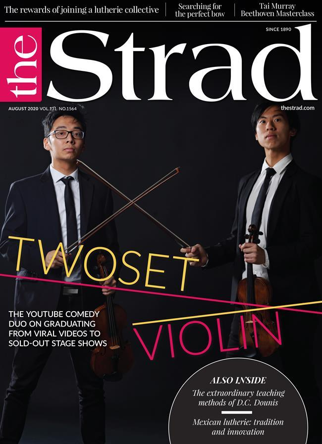 TwoSet Violin: The YouTube comedy duo on graduating from viral videos to sold-out stage shows | August 2020 issue | The Strad