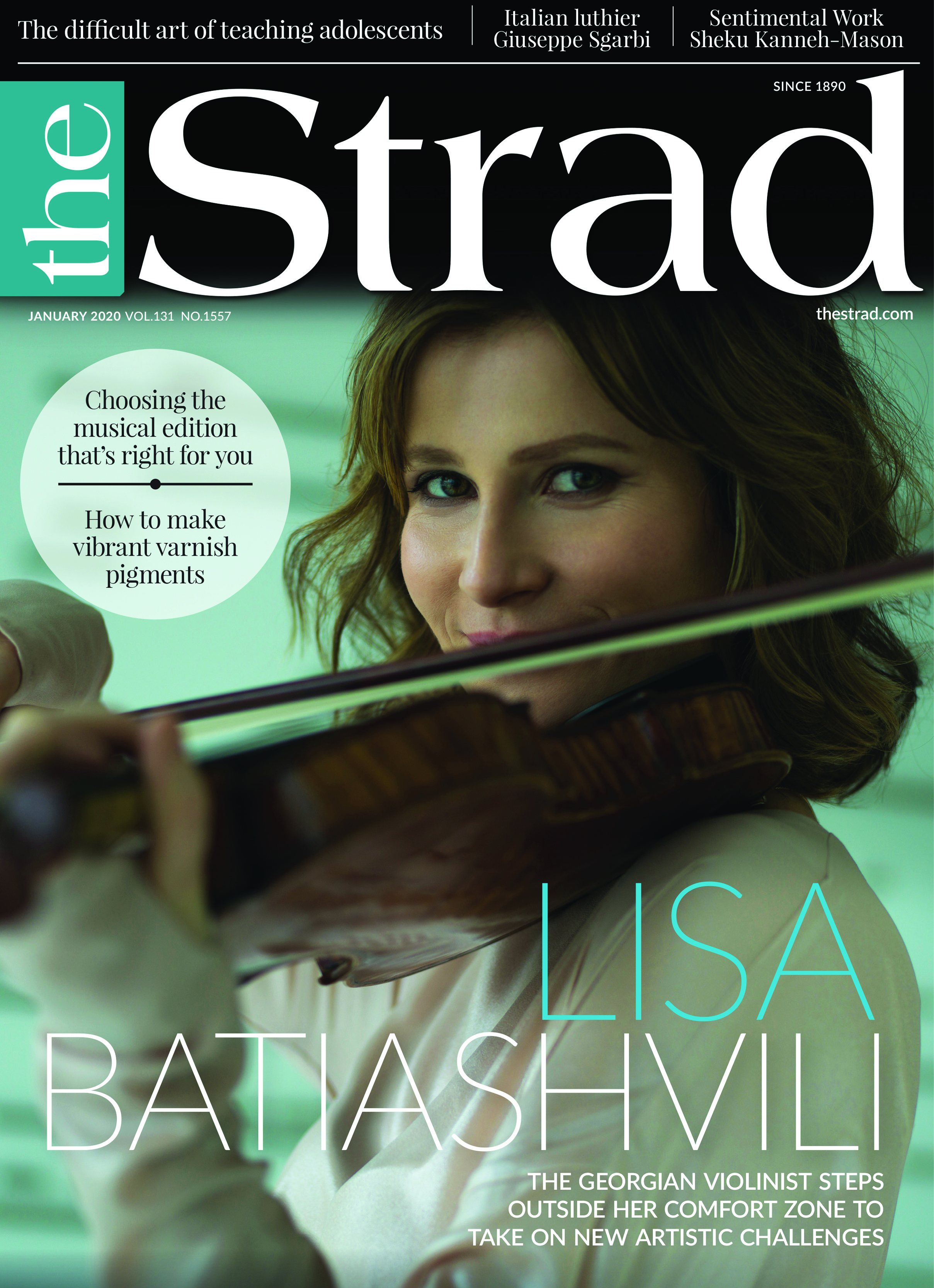 Lisa Batiashvili: The Georgian violinist steps outside her comfort zone to take on new artistic challenges | January 2020 issue | The Strad