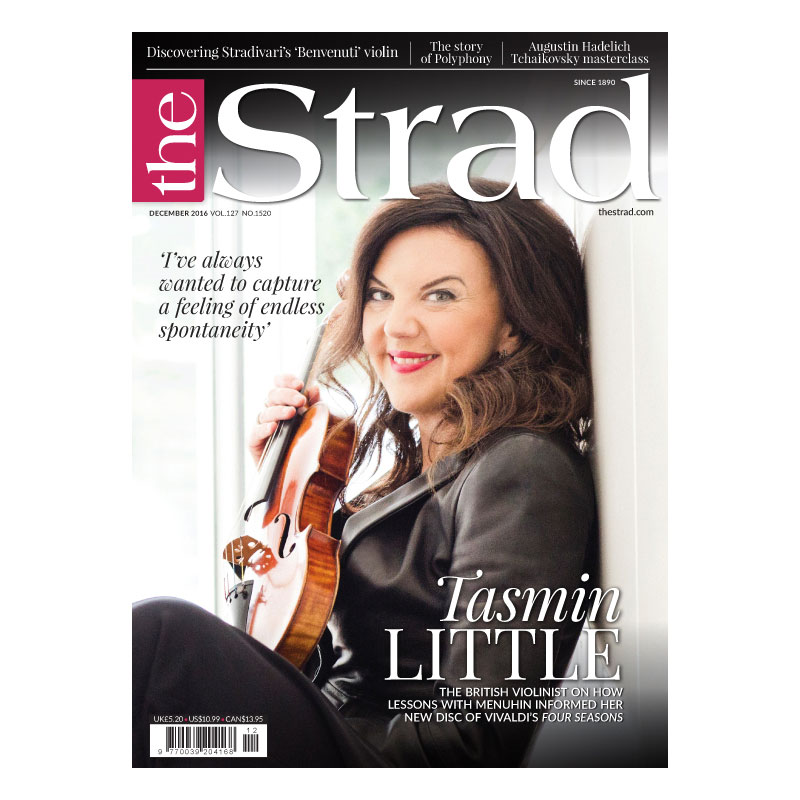 British violinist Tasmin Little describes how lessons with Yehudi Menuhin informed her new disc of Vivaldi's Four Seasons