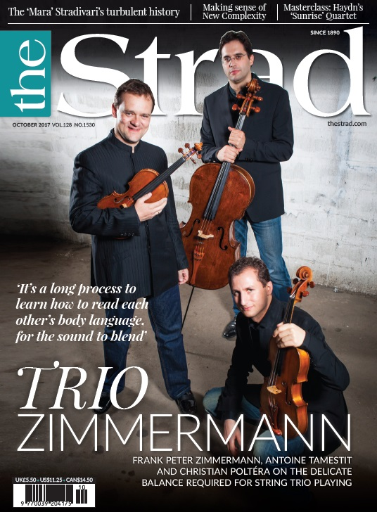 Frank Peter Zimmermann, Antoine Tamestit and Christian Poltéra on learning to work as one in the Trio Zimmermann