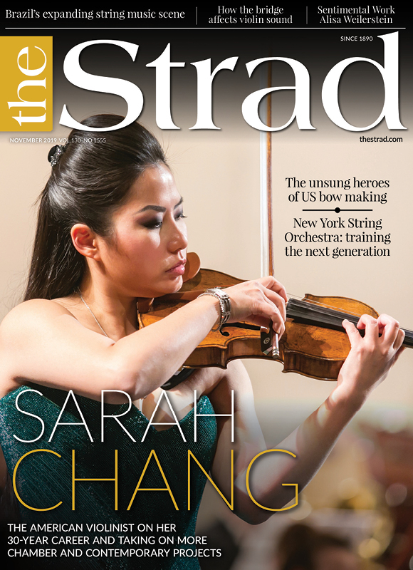 Sarah Chang: The American violinist on her 30-year career and taking on more chamber and contemporary projects | November 2019 issue | The Strad