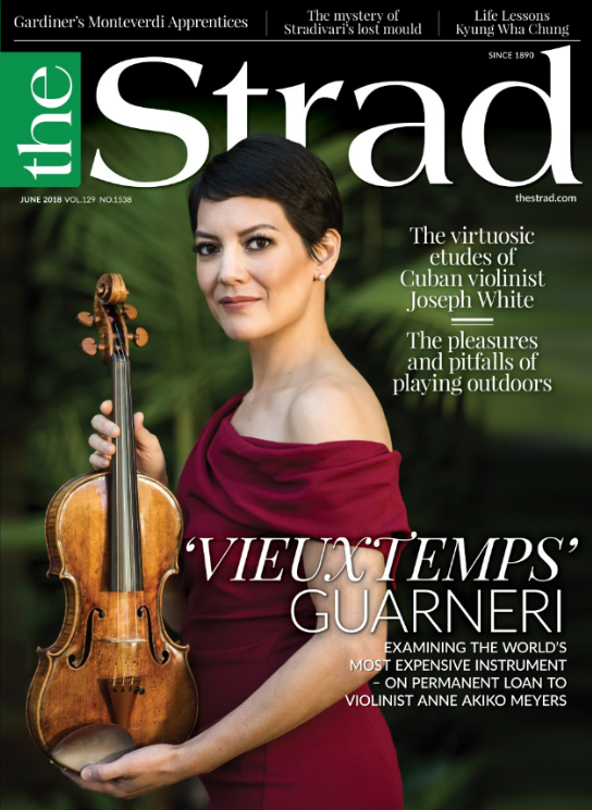 Examining the world's most expensive violin, the 'Vieuxtemps' Guarneri 'Del Gesù', plus Anne Akiko Meyers discusses playing it