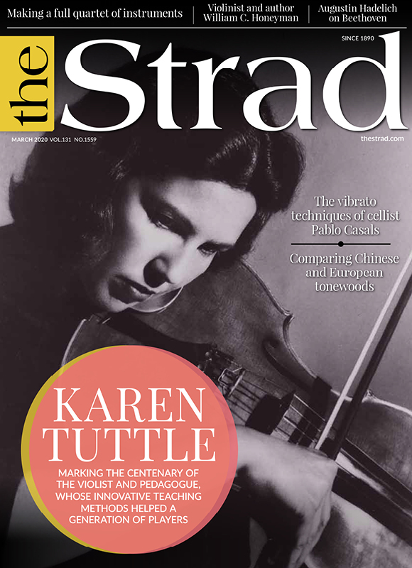 Karen Tuttle: Marking the centenary of the violist and pedagogue, whose innovative teaching methods helped a generation of players | March 2020 issue | The Strad