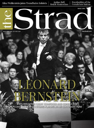 Bernstein and strings: The charismatic composer/conductor's rich body of work for stringed instruments