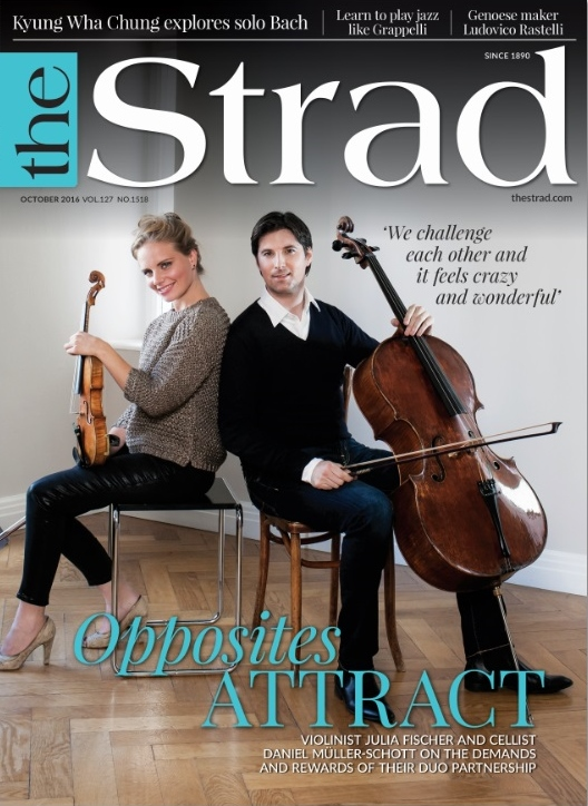Violinist Julia Fischer and cellist Daniel Müller-Schott discuss the demands and rewards of their duo partnership