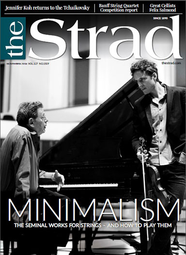 We explore minimalism's leading works for strings since the movement's emergence in the 1960s and provide tips on how to play them