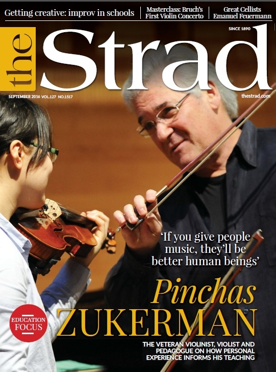 Veteran violinist, violist and pedagogue Pinchas Zukerman speaks about how personal experience informs his teaching