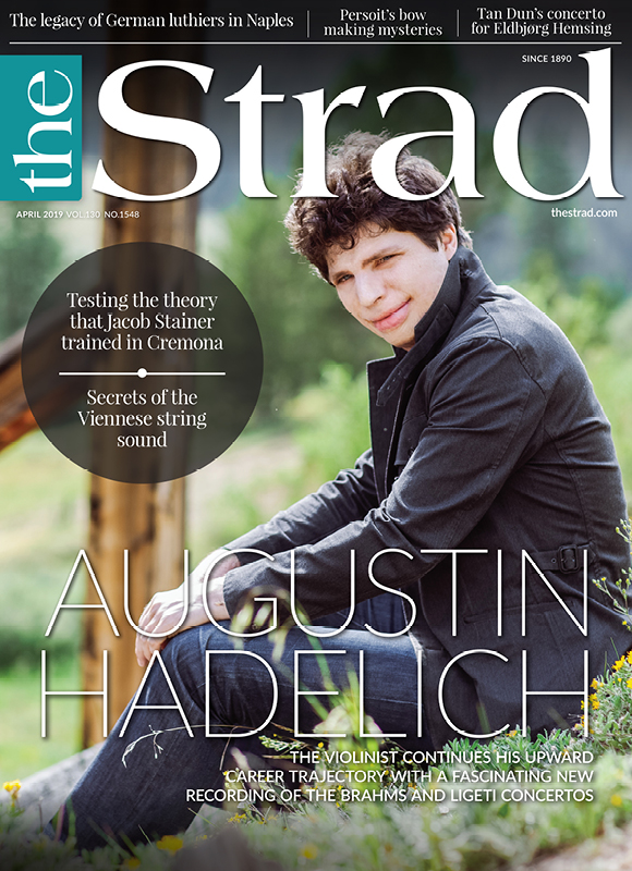 Superstar violinist Augustin Hadelich often selects unusual concerto pairings for his recordings. His latest, combining Brahms and Ligeti, is no exception