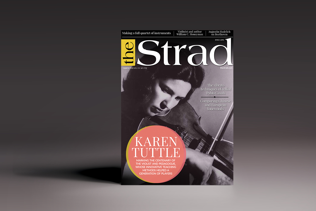 The Strad March 2020 issue
