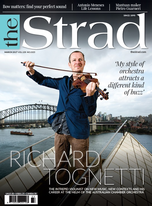 Intrepid violinist Richard Tognetti discusses new music, new contexts and his career at the helm of the Australian Chamber Orchestra