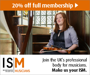 20% off full membership | Incorporated Society of Musicians
