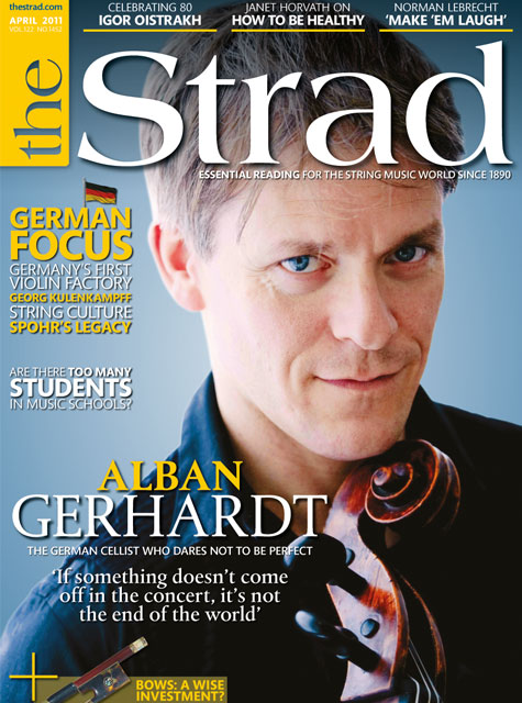 April 2011 issue | Alban Gerhardt