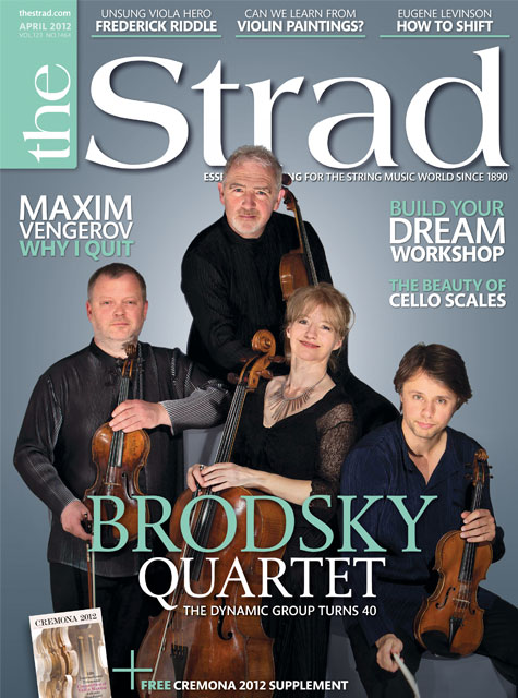 April 2012 issue | Brodsky Quartet