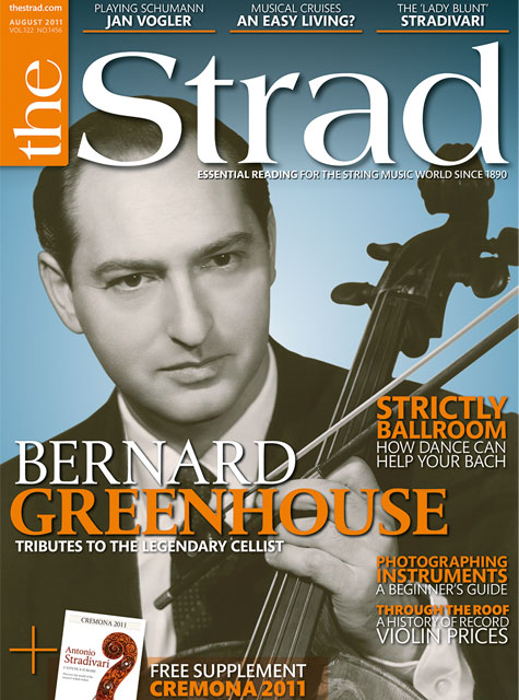 August 2011 issue | The Strad