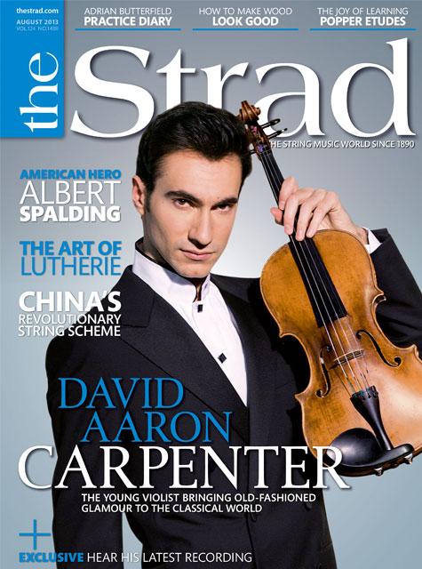August 2013 issue | David Aaron Carpenter