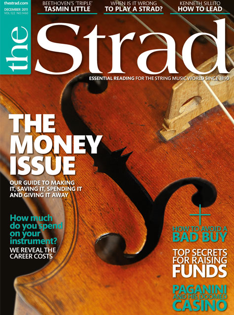 December 2011 issue | The money issue