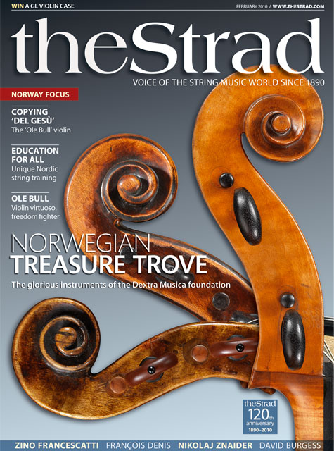 February 2010 issue | The Strad