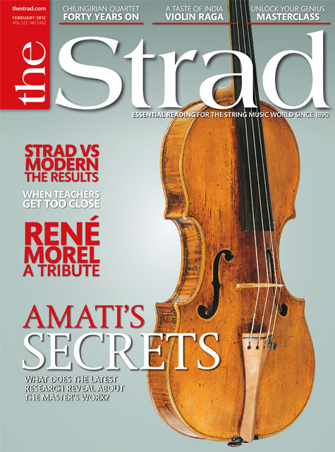 February 2012 issue | Amati's secrets
