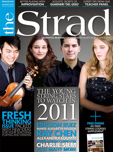 January 2011 issue | The young string stars to watch in 2011