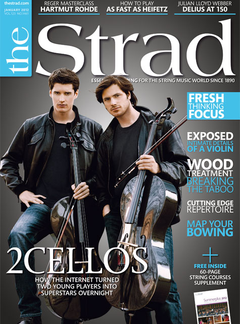 January 2012 issue | 2Cellos