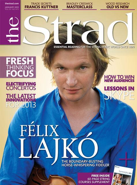 January 2013 issue   Félix Lajkó