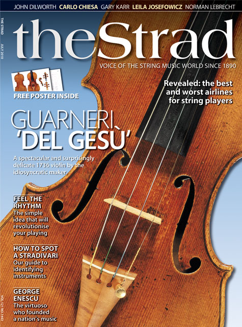 July 2010 issue | The Strad