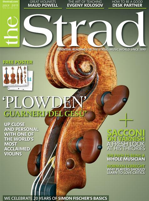 July 2011 issue | 'Plowden' Guarneri 'del Gesù'