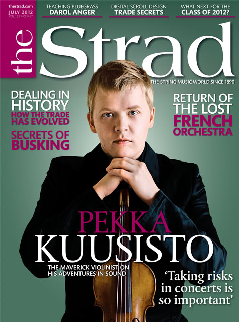 July 2012 issue | Pekka Kuusisto