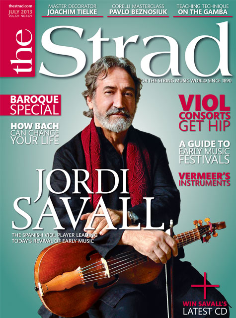 July 2013 issue | Jordi Savall