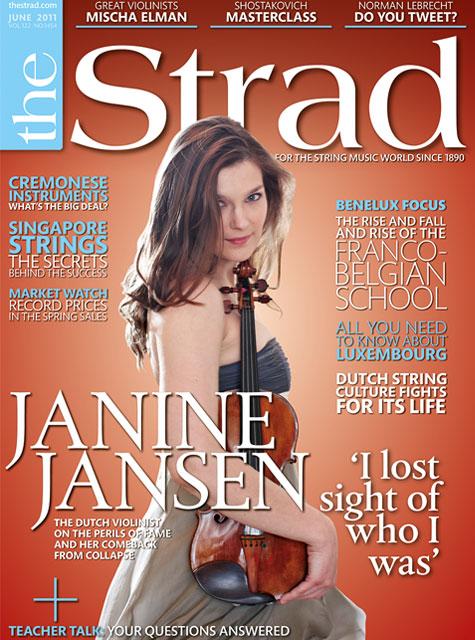 June 2011 issue | Janine Jansen