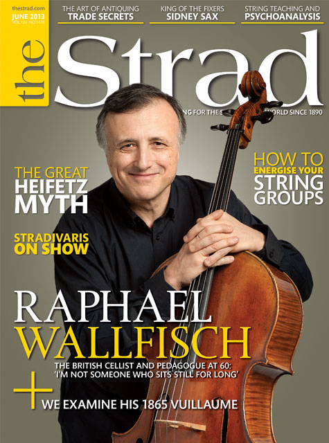 June 2013 issue | Raphael Wallfisch